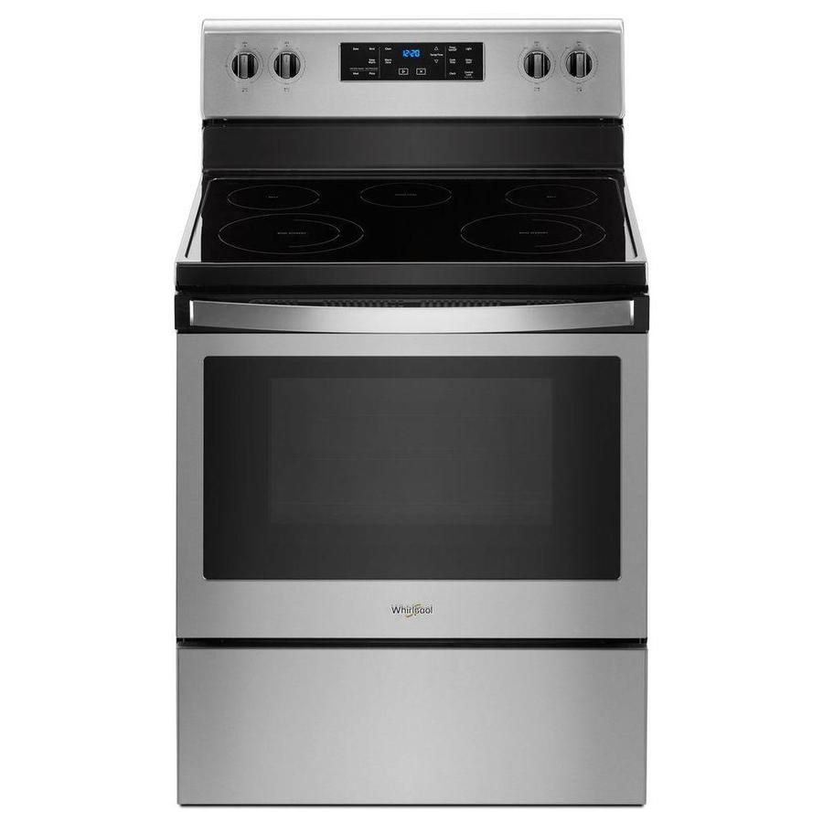 Whirlpool Smooth Surface Freestanding 5 Element 5 3 Cu Ft Electric