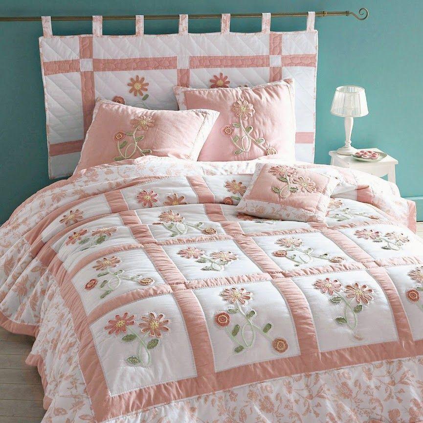 DIY bed headboard, cabeceira de cama em patchwork, testata