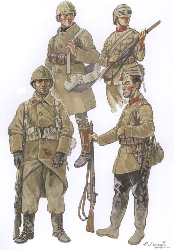 how to draw a ww1 soldier