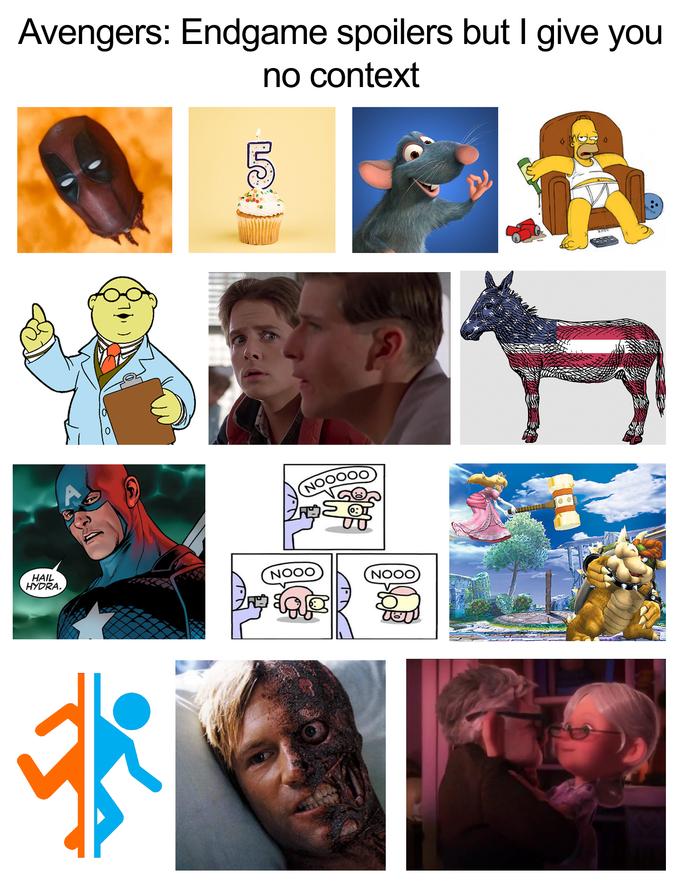 No Context Endgame Marvel Superheroes Avengers Avengers Funny