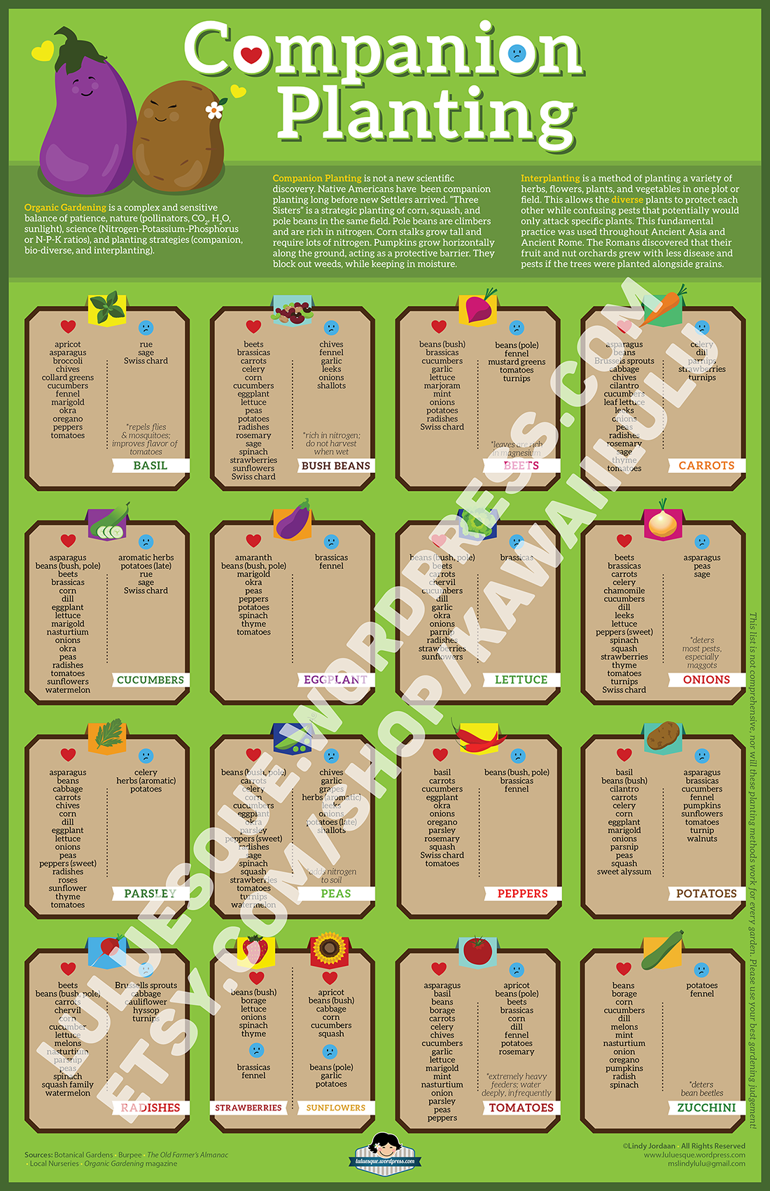 Companion planting a visual guide to help you plan your organic garden not all flowers and - Companion planting ...