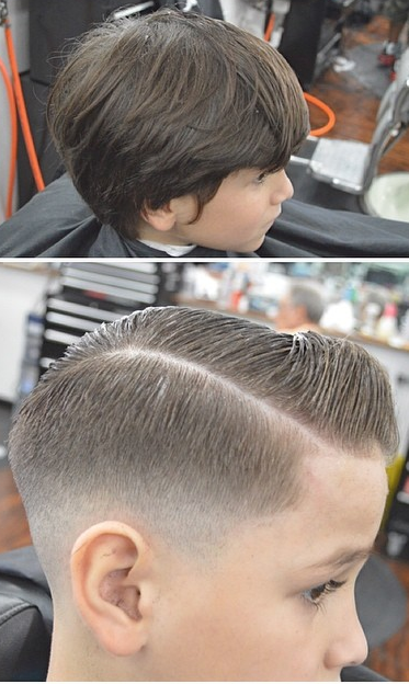 Before And After ~ Fade ~ Taper ~ Undercut