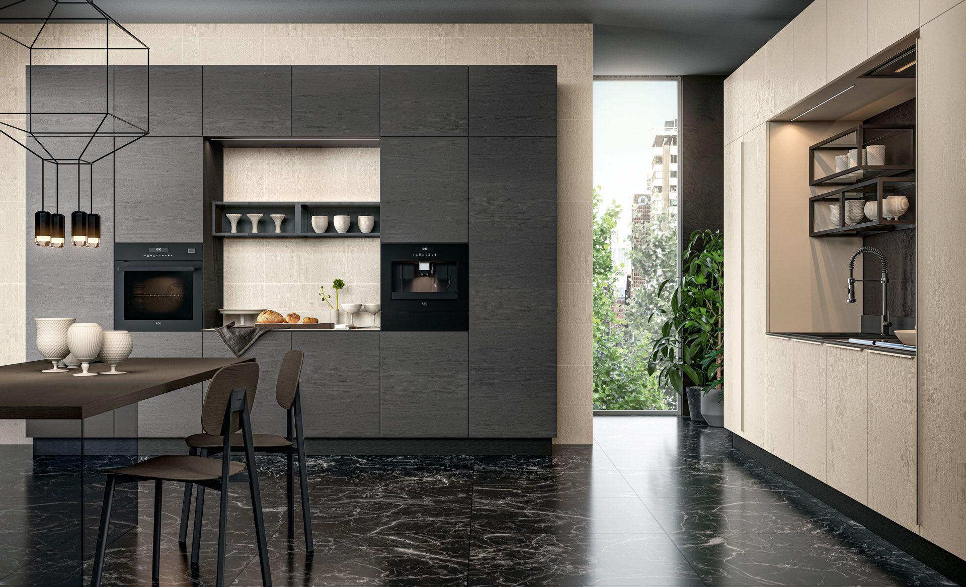 Clover Cucine Moderne Cucine Lube Cucine Moderne Cucine Idee Per La Cucina