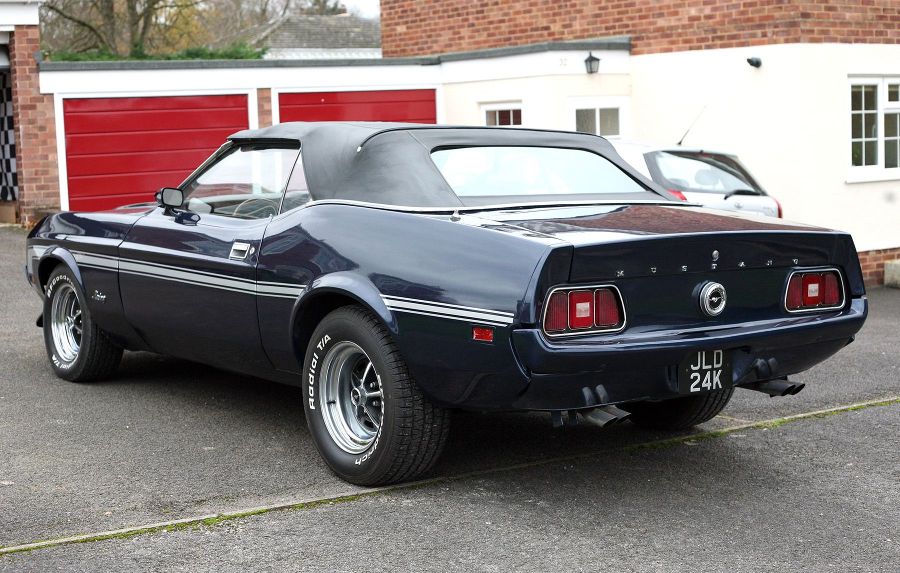 1972_Mustang_Rear.jpg (1800×1146) | Muscle cars, Toyota supra, Cool cars