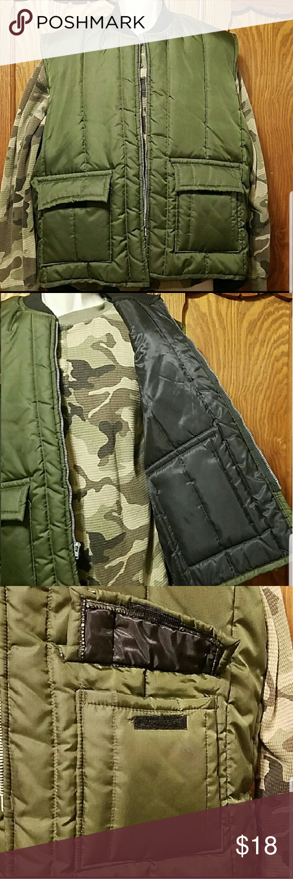 walls insulated vest vest things to sell on walls camo coveralls insulated id=12506