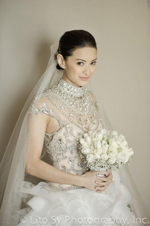 Maricar Reyes Wedding Gown Francis Libiran You Can Do It 2 Http Www Zazzle Posters Rf 238594074174686702