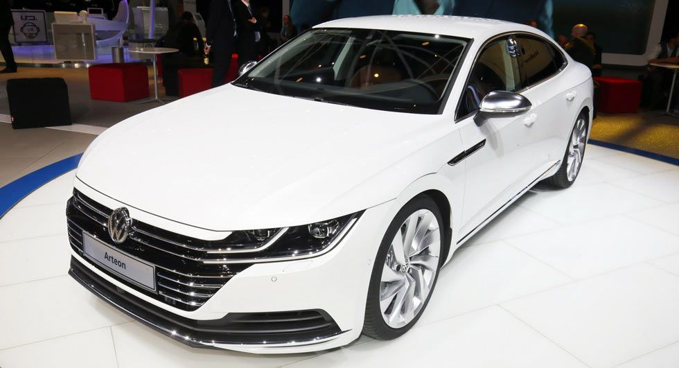 new 2018 vw arteon four door coupe is the cc s more upscale rh pinterest com