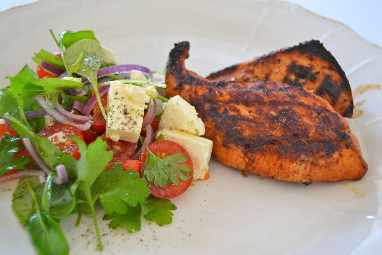 grillade kycklingklubbor marinad