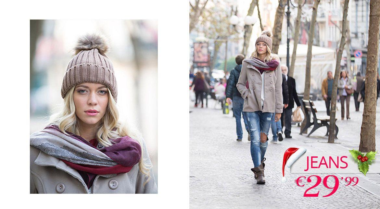XMAS IN TOWN La magia del Natale in città con i must have scelti per te da CANDIDA: un cappottino caldo perfetto con un outfit minimal come un paio di jeans. Scegli il tuo stile comodo per una passeggiata rilassante in città, scegli lo stile CANDIDA.   JEANS 29,99€   SCEGLI IL TUO STILE E SCOPRI IL TOTAL LOOK SU www.cndcandida.com     #TagsForLikes #webstagram #follow4follow