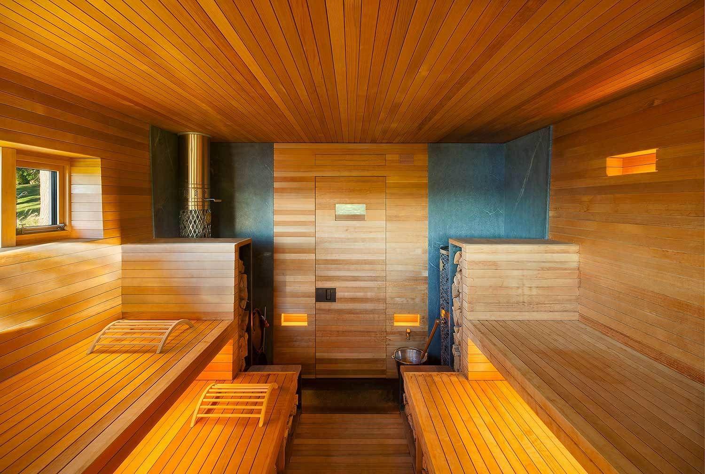 Photo 2 of 10 in 10 Sterling Saunas in Modern Homes | Sauna design ...