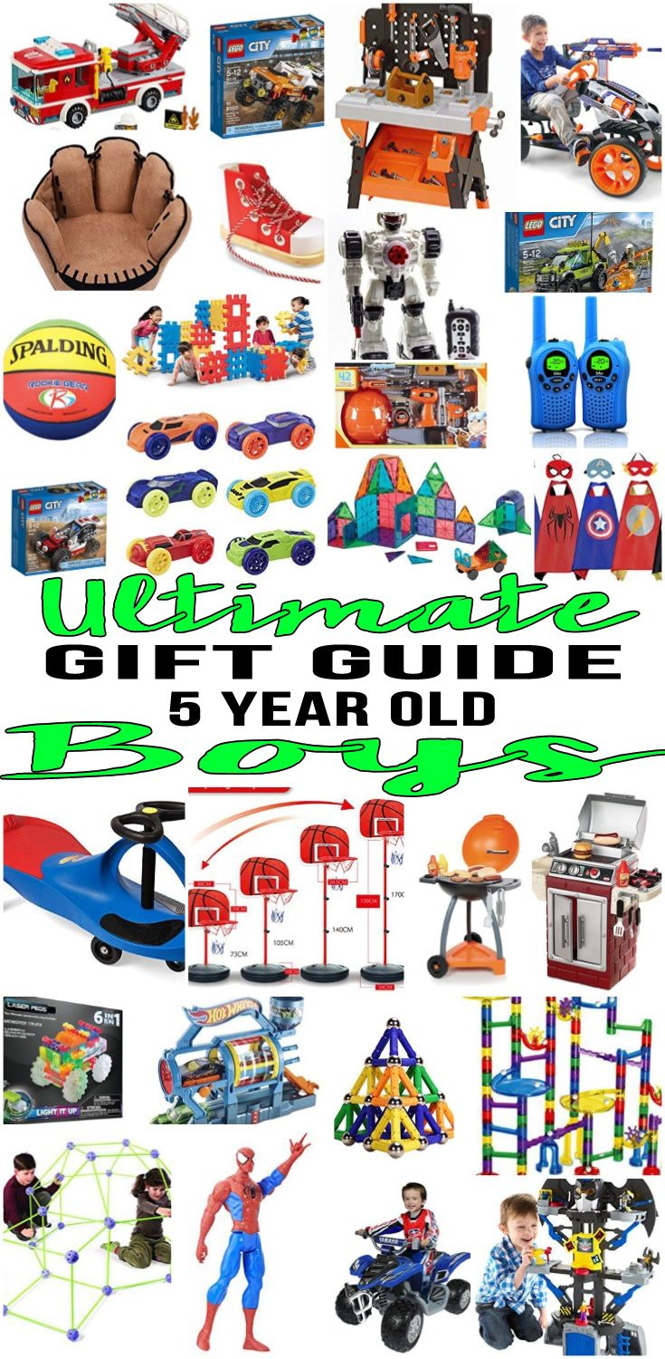 Top Gifts 5 Year Old Boys Want | Gift Guides | Gifts, Christmas ...