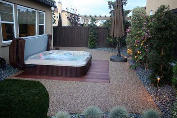 jacuzzi decorating ideas outdoor jacuzzi design ideas for private