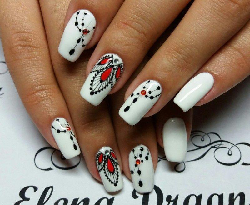 Beautiful patterns on nails, Birthday nails, Christmas nails, Long nails, Nail designs with pattern, Party nails ideas, Perfect nails, Spring nail art