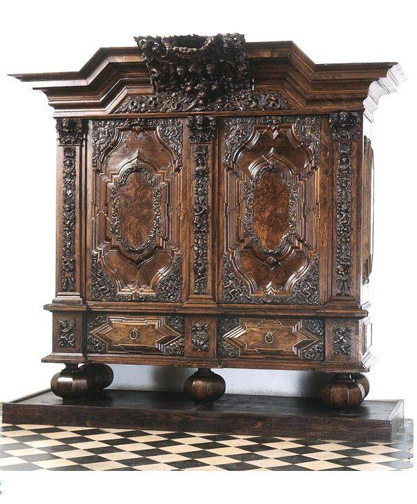 Armoire Gdansk Danzig Poland Ca 1700 National Museum Gdansk Mng Gda Pl Baroque Furniture Antique Furniture Victorian Furniture