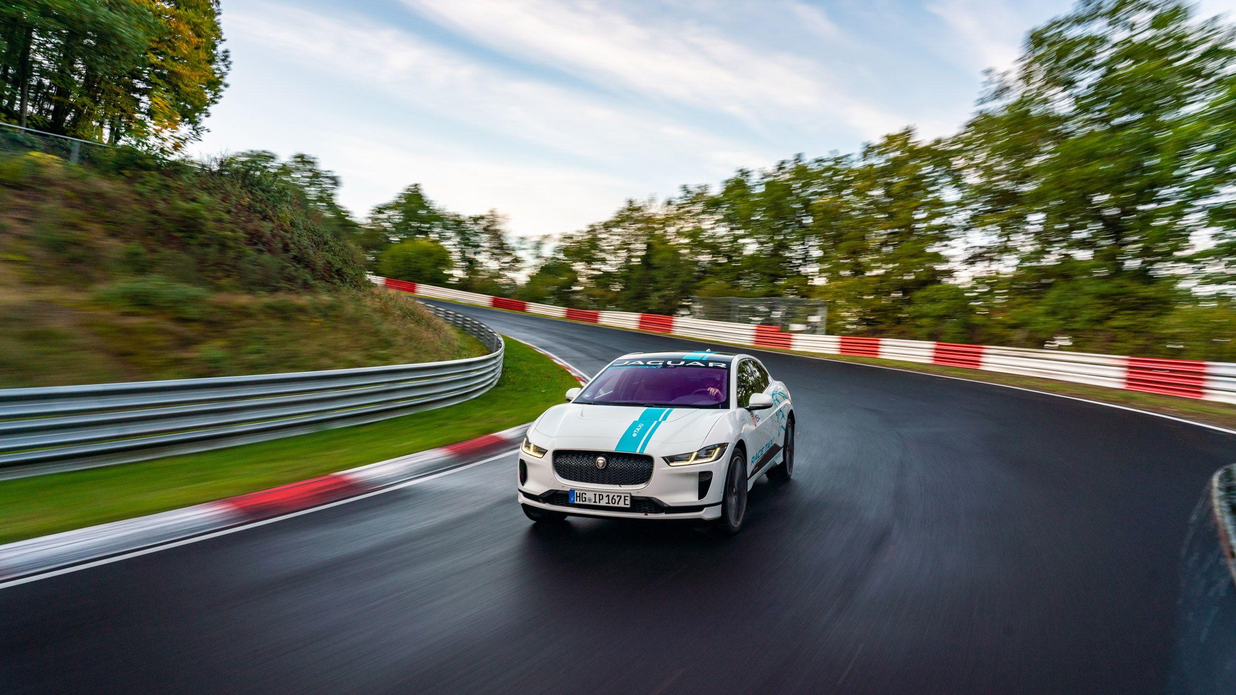 Jaguar Offering I Pace Nürburgring Hot Laps For 164 Car Experience Electric Crossover Jaguar