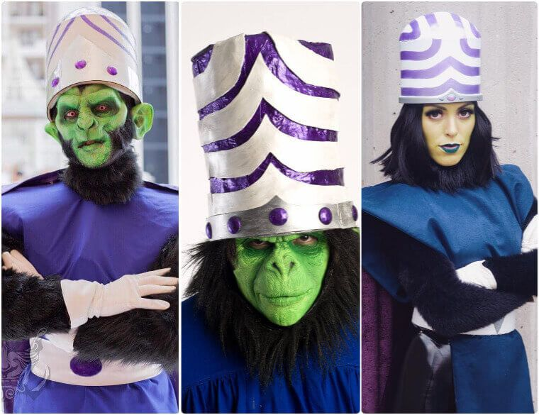 The Best DIY Guide to Mojo Jojo Costume of The Powerpuff