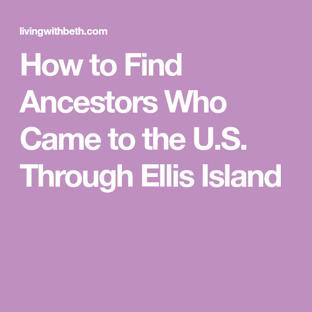 ellis ancestry