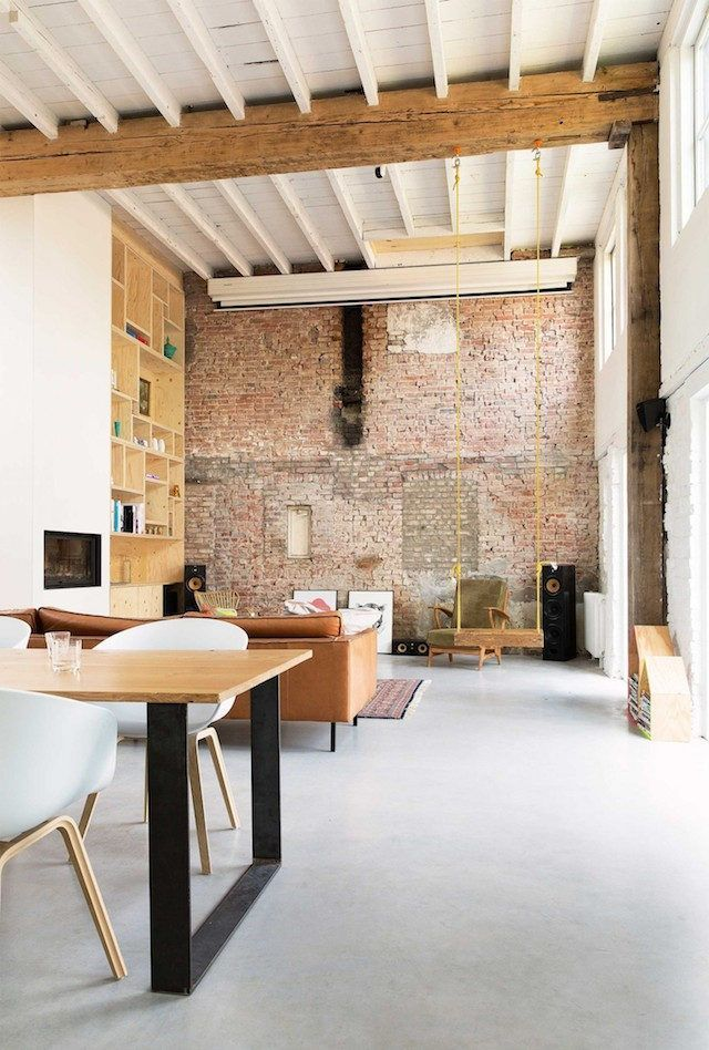 a fabulous dutch home in an old tannery home design industrial rh pinterest com