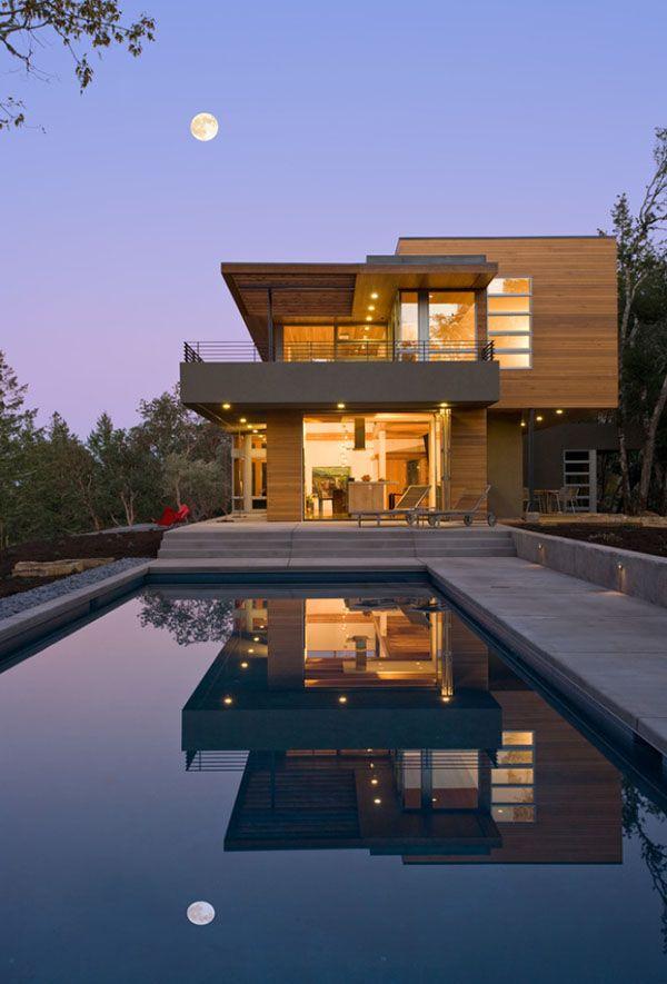 Contemporary HudsonPanos Residence in California Impressive modern