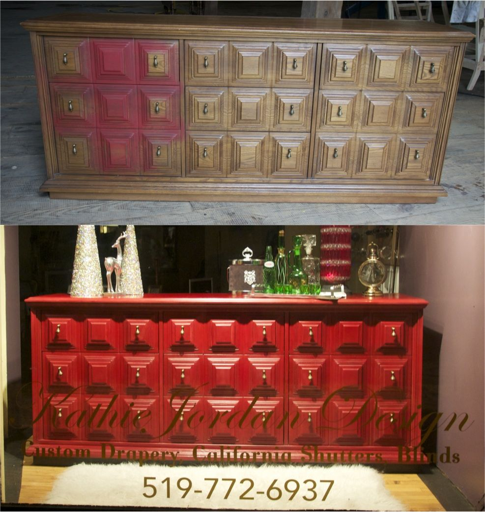 this 70s bedroom dresser came to life after using chalk paint rh pinterest com