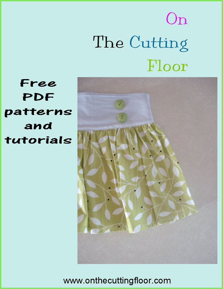 FREE skirt pattern for girls 1 to 8 years. Check this website ...
