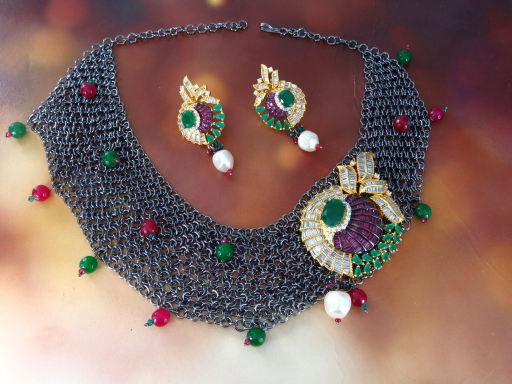 American Diamond Imitation Jewellery online shopping. Buy ...