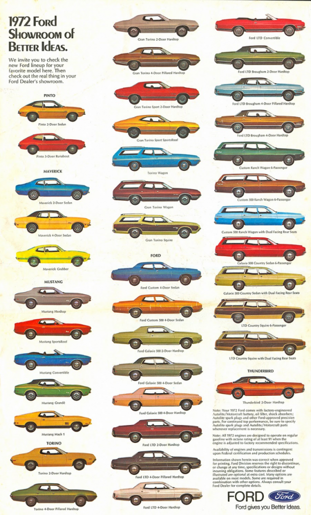 Full Line Madness 10 Classic Cars Ads Featuring The Entire Brand Lineup Classic Cars Car Ads Cars