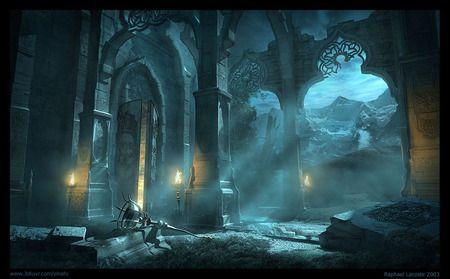 Fantasy Art Temple Of Light