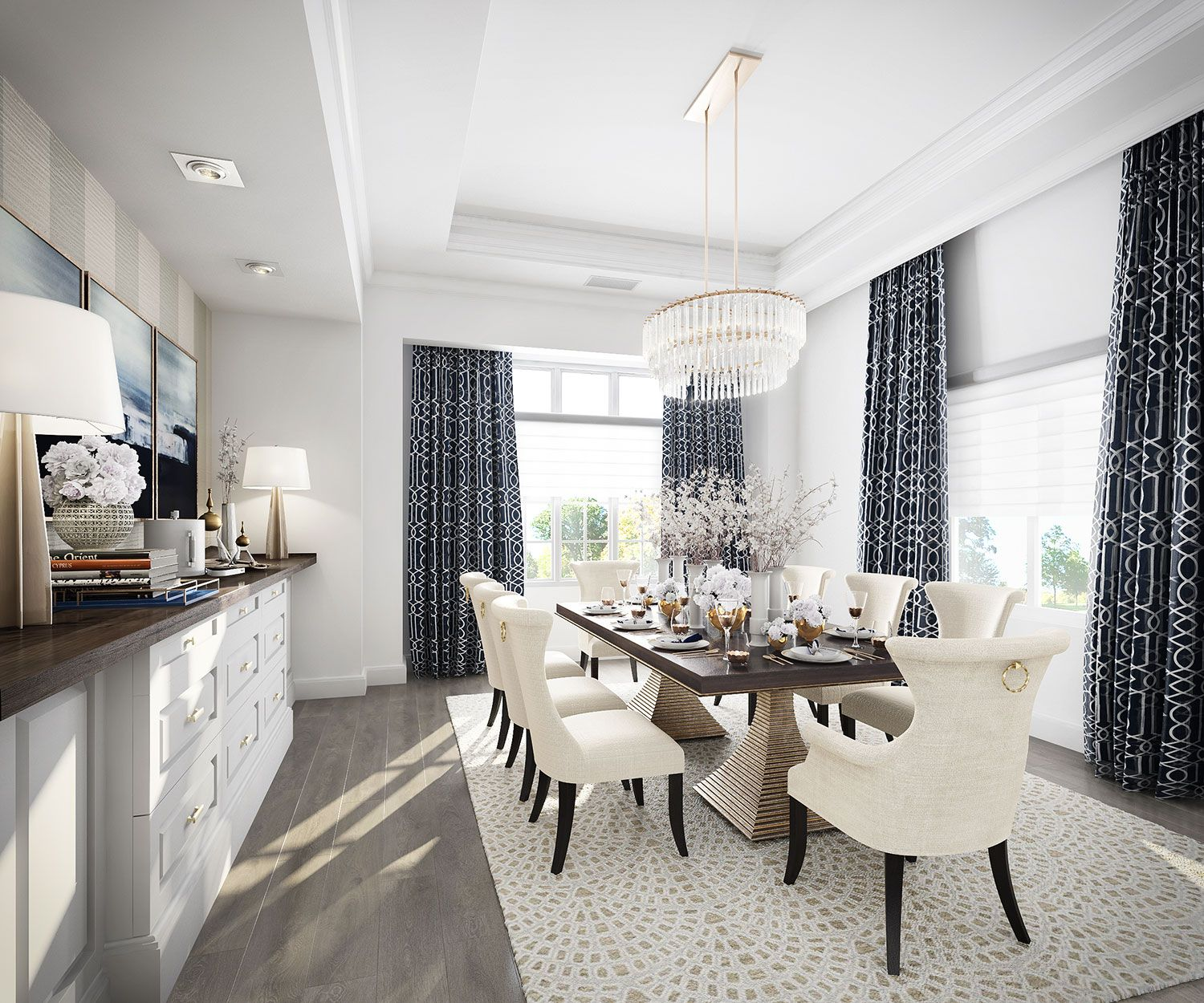 our favorite rooms from the kathy kuo home designbar rue dining rh pinterest com