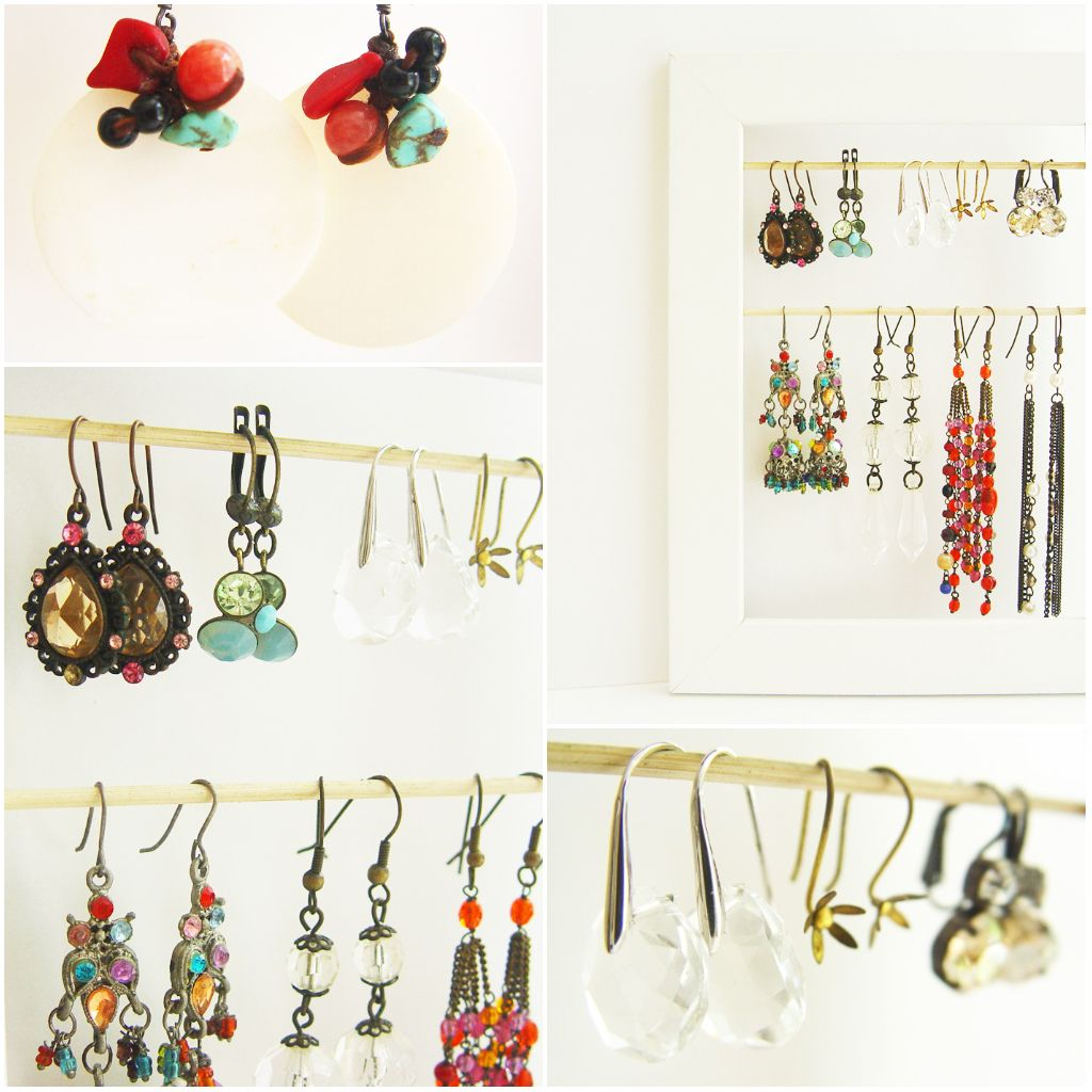 ETINCELLE CREATIVE STUDIO: Pretty ways to display your earrings...