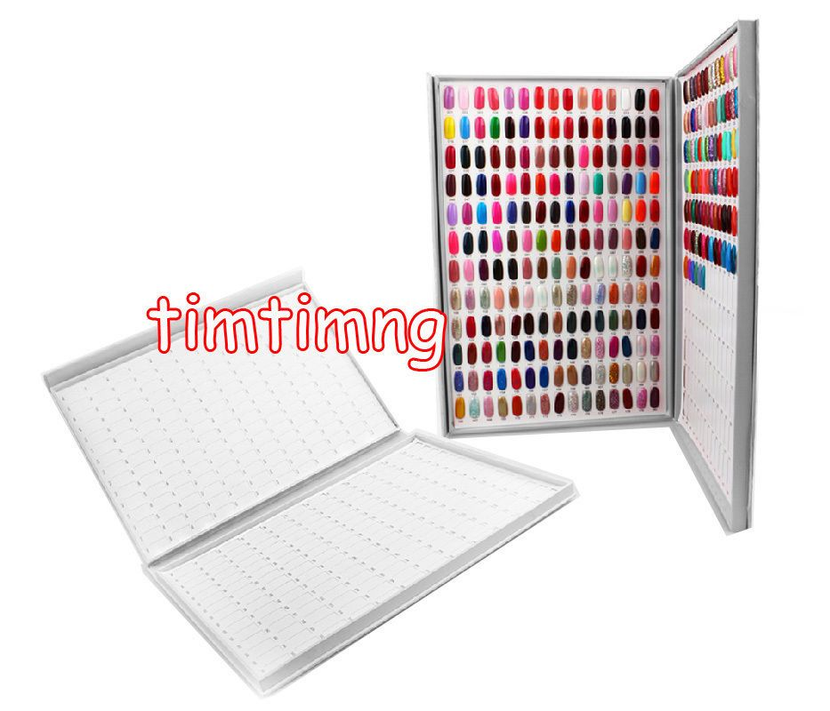 308 Colours Nail Gel Polish Display Book Chart Luxury Nail Art Salon ...