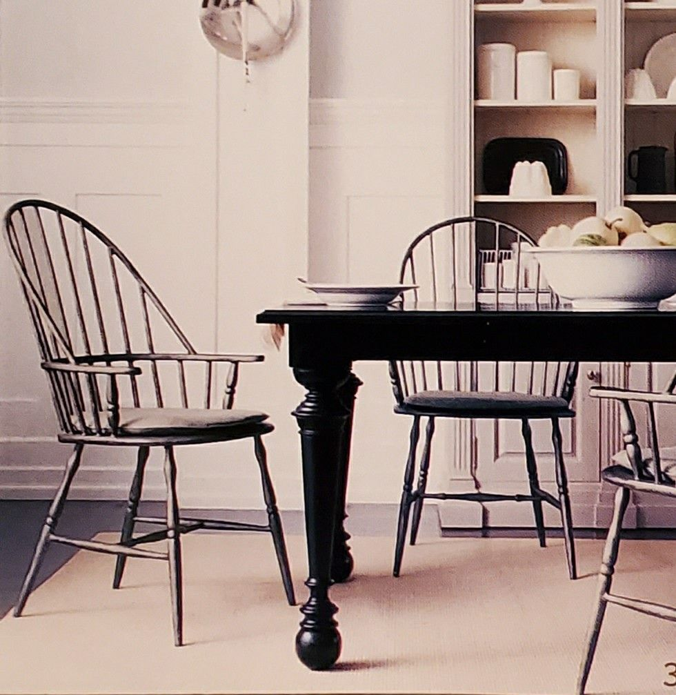 Martha Stewart East Hampton Dining Table And East Hampton Windsor