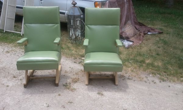 From Chicago Craigslist; only $150 the pair. Truly unique ...