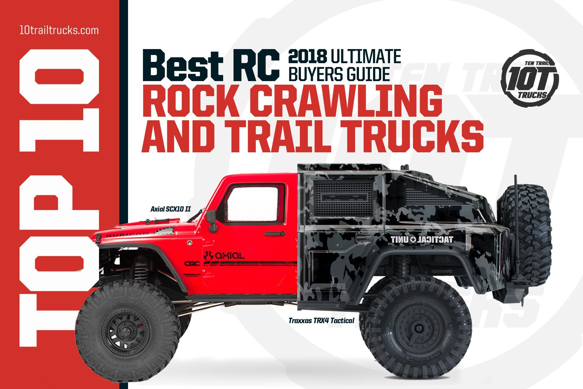 Hey Looking For This Years Best Rc Rock Crawlers Check Out 10trailtrucks All The Top Rc Trail Trucks Are Covered Rc Rock Crawler Rock Crawler Crawlers