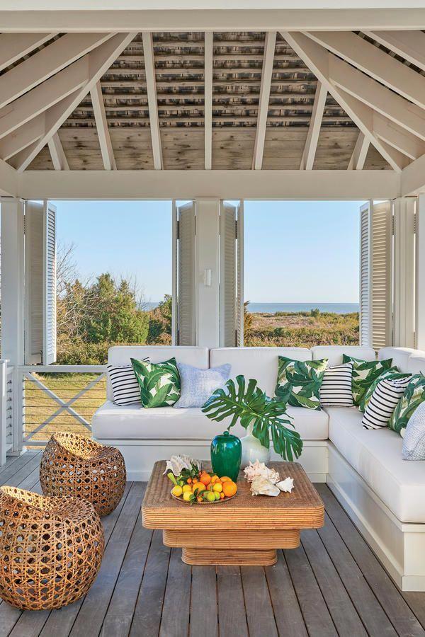 breezy outdoor retreat tour this breezy south carolina beach house rh pinterest com