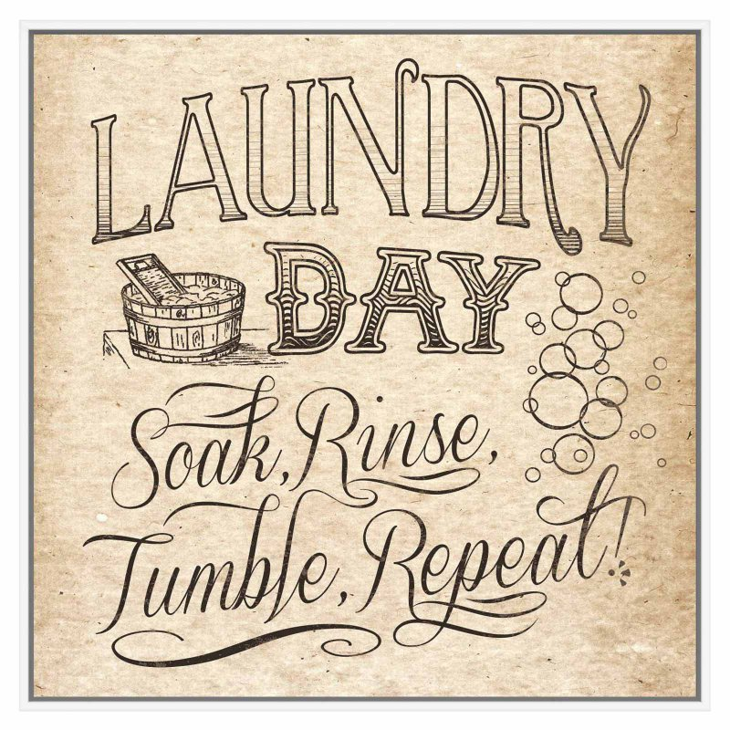 PTM Images Laundry Day Decorative Wall Art (With images ...