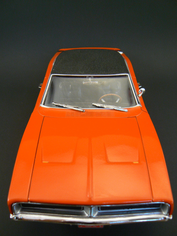 orange 1969 dodge charger r t 1 18 scale diecast by ertl american rh pinterest com