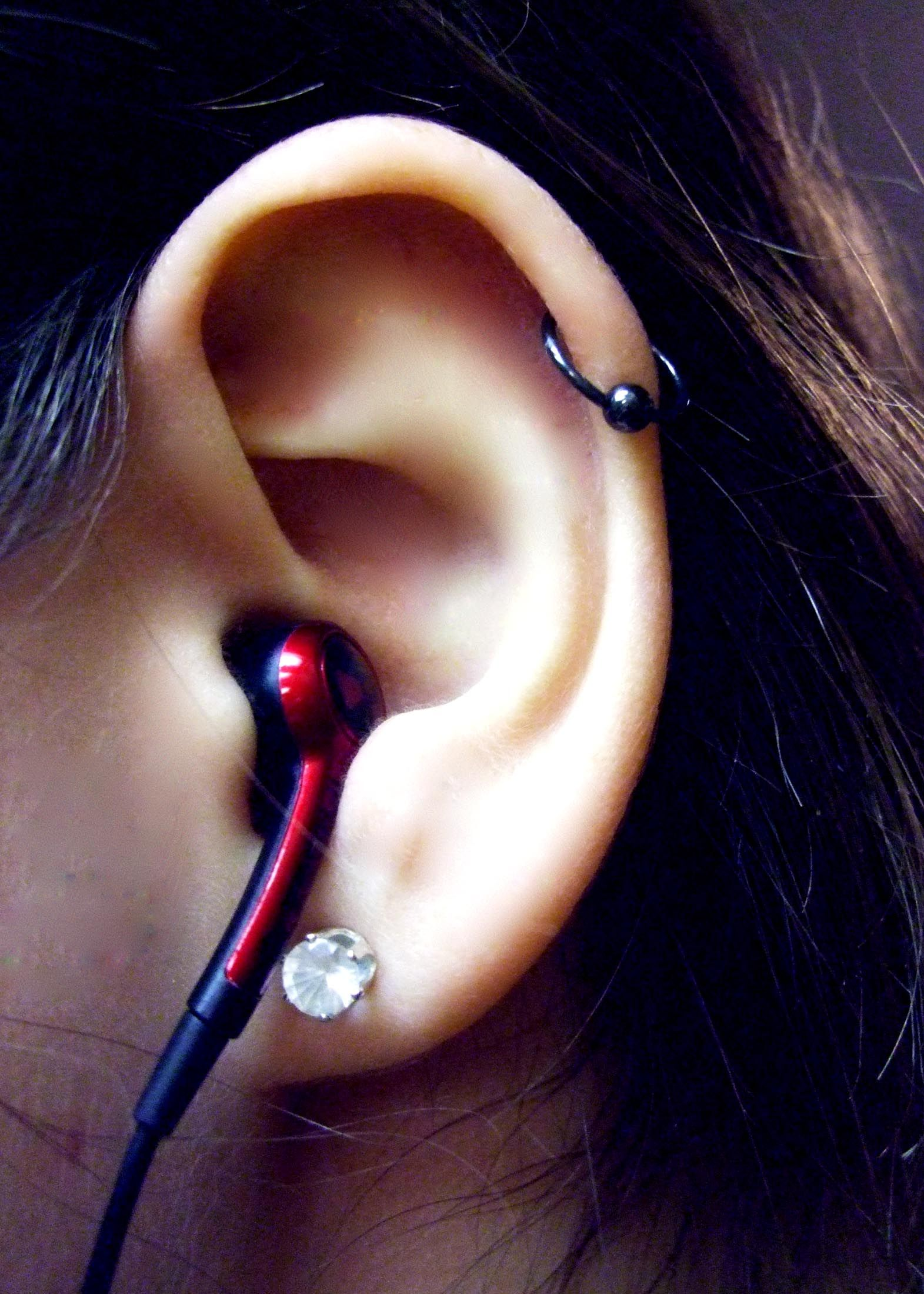 Nose piercing position  My ear piercings helix  PiercingsuTattoos  Pinterest  Ear