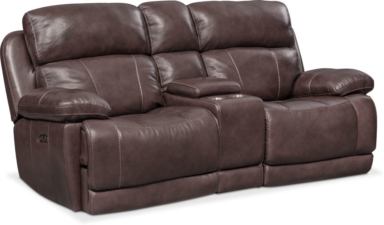 Monte Carlo Dual Power Reclining Loveseat Power Reclining Loveseat Power Reclining Sofa Value City Furniture