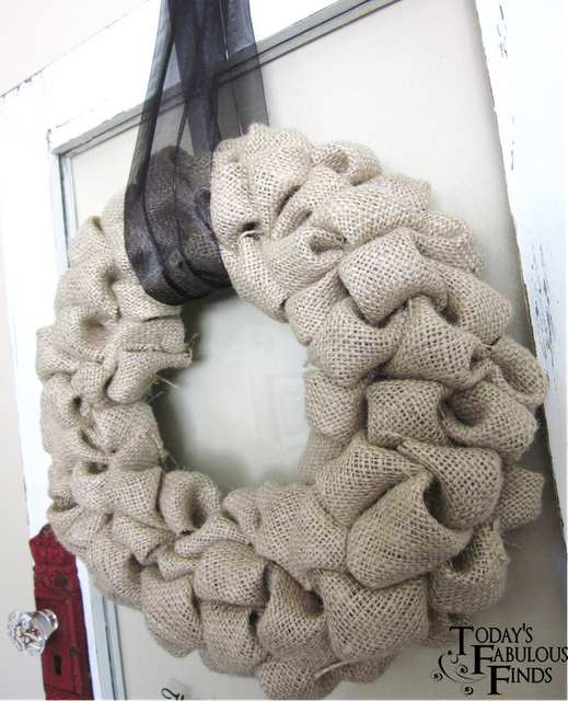 Puffy wreath tutorial