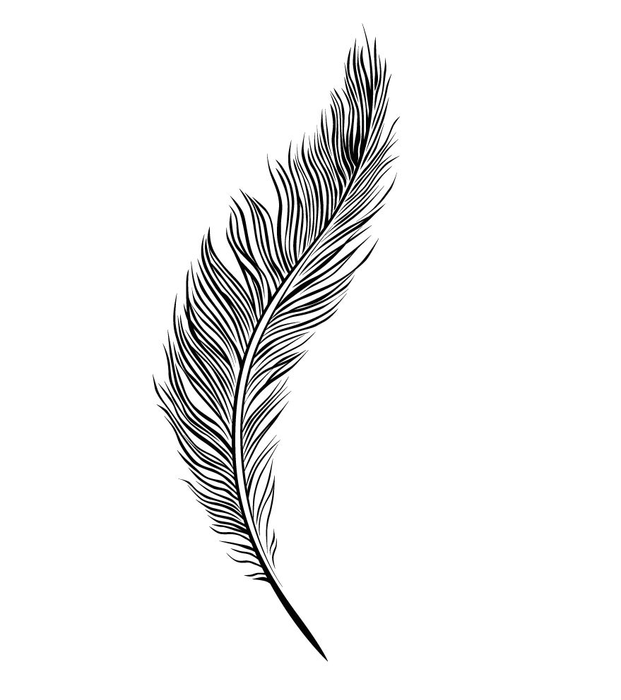 Line Drawing Tattoos London : Feather line drawing gd morgue file pinterest