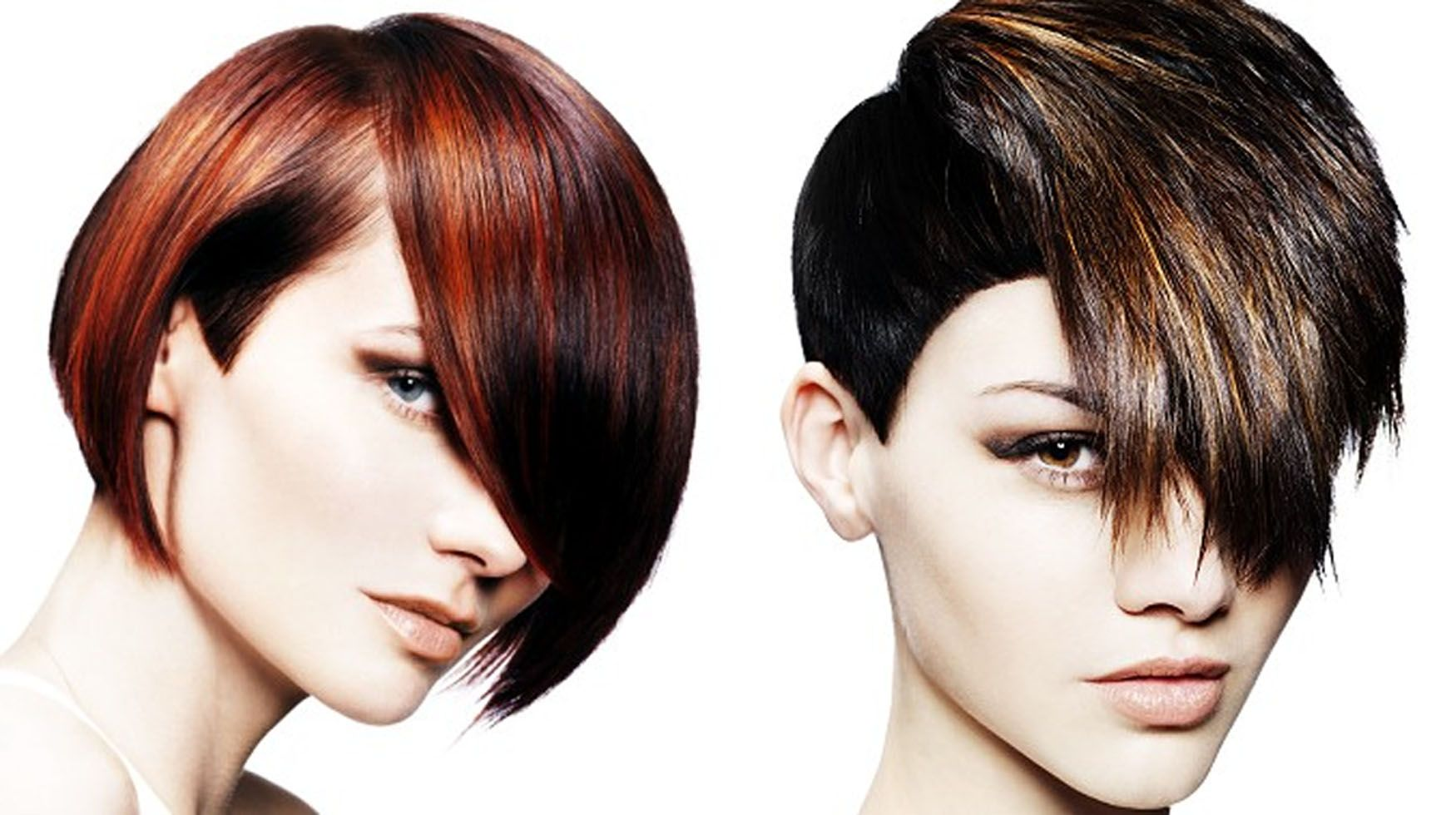 Medium Straight Hairstyles With Hair Color