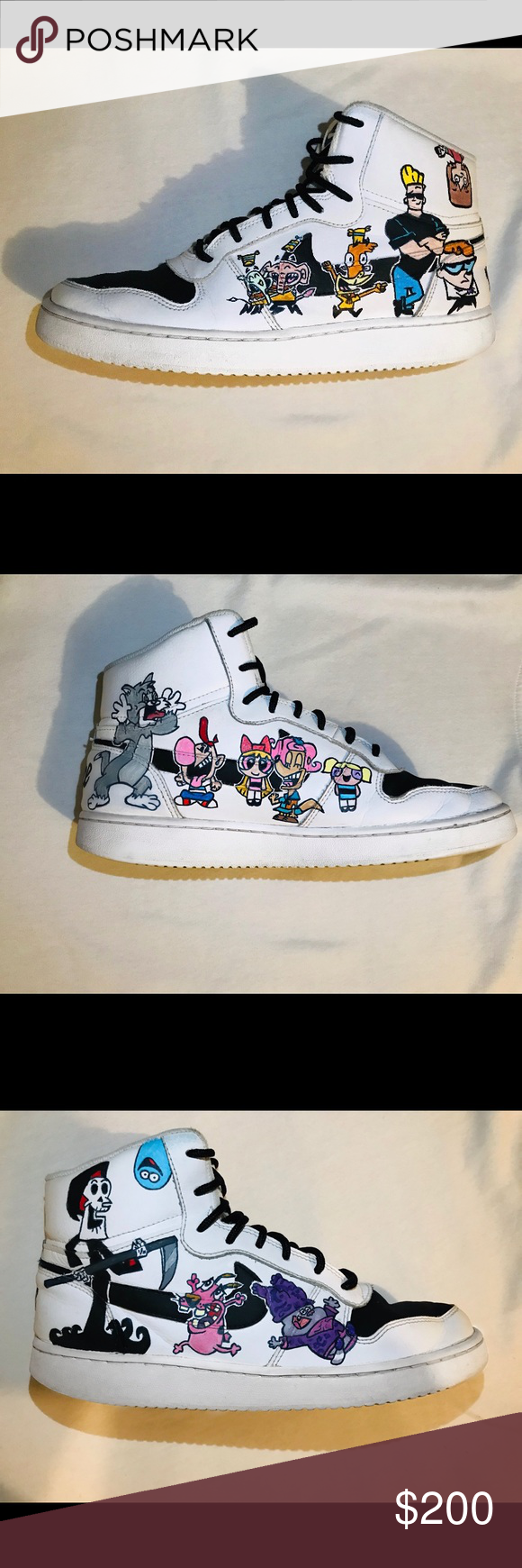 Custom Designed Air Force Ones Cartoon Network Air Force Ones