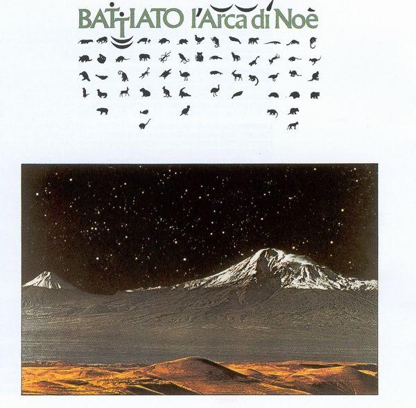 Franco Battiato L Arca Di Noe Record Cover By Francesco Messina Copertine Degli Album Album Foto