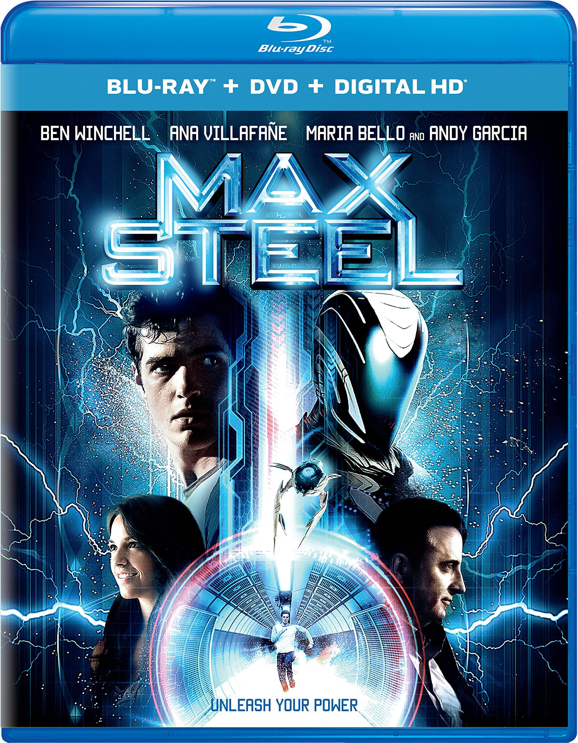 max steel (blu-ray + dvd + digital hd) | to my home theater