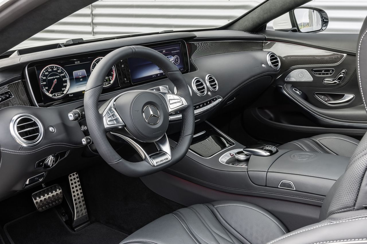 Mercedes Benz S 63 Amg Coupe C 217 2014 Exclusive Nappa Leather
