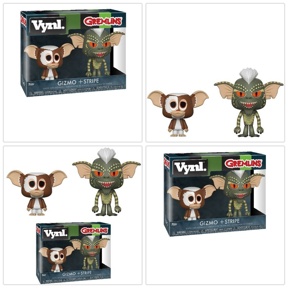 New in Box GIZMO /& STRIPE Gremlins Funko Vynl Figures 2-Pack