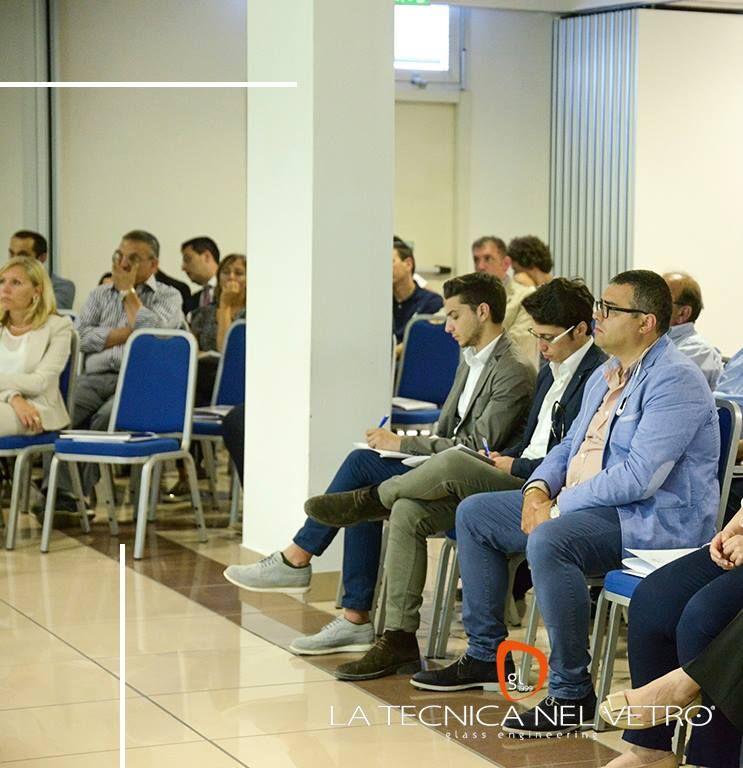 Gennaro Gargiulo (Amministratore Unico), Daniele Danisi (Project Manager), Davide Lavieri (Progettista) alla Convention Climalit SGG 2015