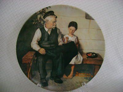 """NORMAN ROCKWELL""""THE LIGHTHOUSE KEEPER... $6.00 #bestseller"""