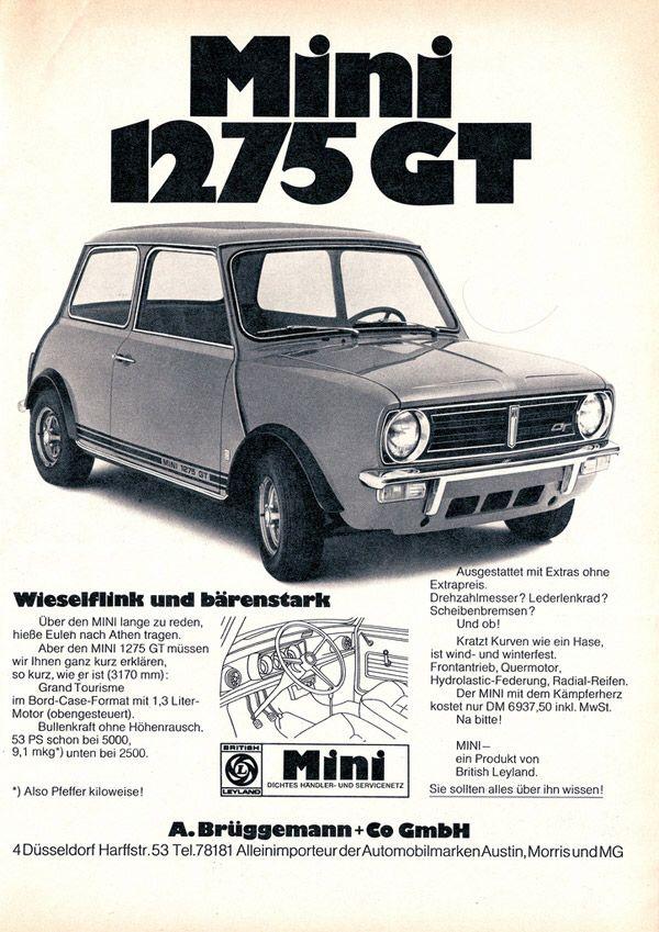Mini Gt 1275 Mini Oldtimers